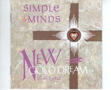 CD SIMPLE MINDSnew gold dreamEX UK 1983 NO BARCODE ( B2465)