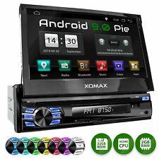 Autoradio mit Android 9.0 2gb+32gb Navi DVD Bluetooth Wifi 3g/4g Dab+ Obd2 1DIN