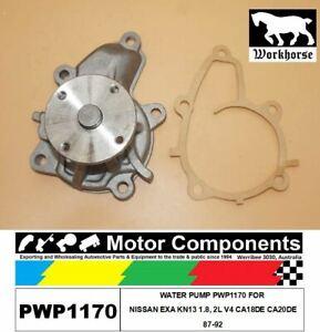 WATER PUMP PWP1170 FORNISSAN EXA KN13 1.8, 2L V4 CA18DE CA20DE87-92