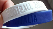NIKE BRACCIALETTO WRISTBAND - BALLER ID STAND UP SPEAK UP ITALY ENGLAND ITALIA