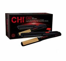"CHI G2 Ceramic and Titanium Infused 1 1/4"" Straightening Hairstyling Iron-NEW"