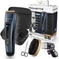 Rowenta Kit cuidado barba Signature TN4500 Cortapelos y Barbero Titanio 120 min