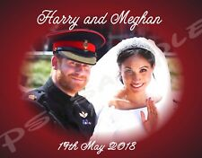 3.5x5 Flexible Fridge Magnet - Harry and Meghan #1 - Royal Wedding