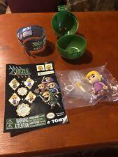 """Zelda """"Four Swords"""" Tomy Figure- Purple Link"""
