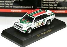 New ListingKyosho 1/64 Fiat & Lancia Collection Fiat 131 Abarth Rally No.4 Alitalia 1978