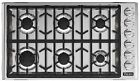 """Viking 5 Series 36"""" Gas Cooktop with 6 Sealed Burners VGSU53616BSS photo"""