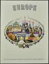 Stanley Gibbons 1960's Europe No.2 Print #V11352