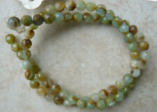 """PERUVIAN BLUE OPAL Faceted Beads 6MM round natural gemstone 16"""""""