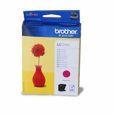 LC121M Brother Inkjet Cartridge Page Life 300pp Magenta