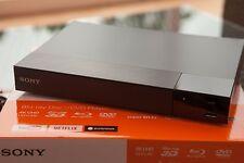 Sony BDP-S6500 3D Blu Ray BD DVD Player 4K Upscaling USB WiFi schwarz