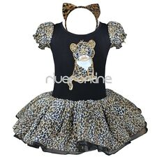 Kids Girls Baby Toddler Minnie Mouse Halloween Costume Party Tutu Dress Headband