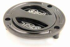 Aluminum Keyless Motorcycle Fuel Tank Gas Cap For Yamaha Yzf R6 1999-2012 Black