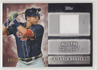 2020 Topps Series 1 AUSTIN RILEY Major League Material Relic /199 BRAVES #MLM-AR