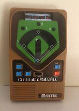 Vintage Mattel Hand Held Baseball Game & Includes Batteries Excellent!