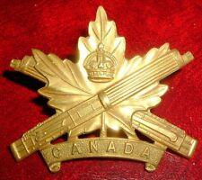 CAP BADGES-WW1 CANADIAN CEF CANADIAN MACHINE GUN CORPS REF CORPS 31-2