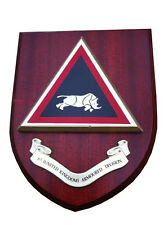 1st UK Armoured Division Wall Plaque Regimental Military