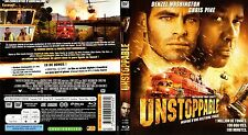 UNSTOPPABLE - Film Blu-ray avec Denzel WASHINGTON et Chris PINE - 2010 - 98 min