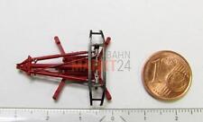 Ersatz-Stromabnehmer rot Pantograph z.B. für ROCO Elektrolok BR 103 H0 NEU
