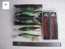 7pcs  EGI , 3.5g #3.5 Shrimp Bait Lures Fishing Lure Jig.13.5cm 18#