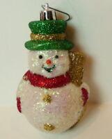 """Sparkles Snowman Ornament 4"""""""