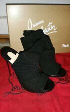 Christian Louboutin - Cheminene - 35,5 FR/UK 3/US 4 - peep toes - noir/black