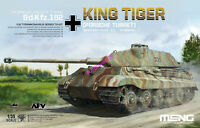 Meng TS-037 Model 1/35 German Sd.kfz.182 King Tiger Porsche Turret SuperWar