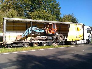Stapler, Trecker, Traktor, Unimog, Radlader, Transporte von S&W Spedition