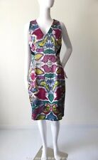 VERONIKA MAINE Size 10  US 6 Sleeveless Sheath Dress  Made in Australia