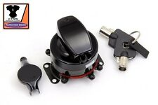 Hinge Ignition Switch 6 Terminal Shovelhead EVO FLH FXST FLST FX Gloss Black