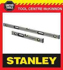 STANLEY FATMAX XTREME 2ft / 600mm & 4ft / 1200mm 3-VIAL SPIRIT LEVEL TWIN PACK