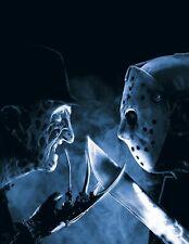 Freddy Vs Jason movie photo print - 8 x 10 - Elm Street, Friday the 13th
