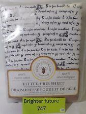 Burt's Bees Baby - Alphabet Bee Fitted Crib Sheet