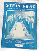 University of Maine ,Stein Song, 1930 *Scarce OZ Variant* Fenstad&Sprague