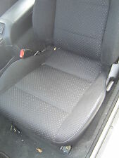MAZDA MX5 1989-1997 EUNOS NEW BLACK SYNTHETIC LEATHER CUSTOM MADE SEAT COVERS