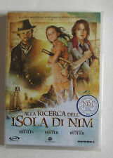 #  ALLA RICERCA DELL'ISOLA DI NIM -  DVD  NUOVO SIGILLATO  -