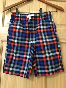 NWT Gymboree Boy Pull on shorts Plaid Outlet 3T,4T,7/8