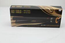 New ListingHot Tools Professional Black Gold Micro-Shine Flat Iron, 1 Inch Ht7122Bg 38U47