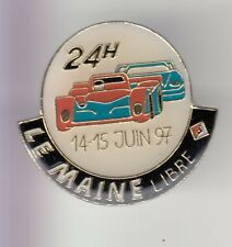 RARE PINS PIN'S .. AUTO CAR TEAM LE MAINE LIBRE 1997 24 HEURES LE MANS 72 ~C9