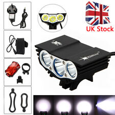 SolarStorm X3 T6 20000lm Mountain Cycle Bicycle Light Bike Front Lamp Torch UK D