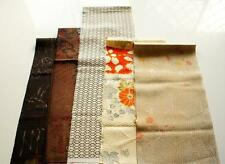 Japanese kimono Fabric | Patchwork Lot 513 | Vintage | Silk | valued pack |