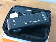 Godox AD200 TTL HSS  2.4G 1/8000 Wireless Pocket Flash