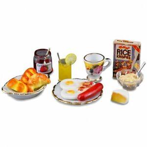 Reutter Porcelain - Dollhouse Miniature American Breakfast