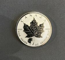 2017 $5 SILVER Maple Leaf GROWLING COUGAR PRIVY mark - Reverse Proof