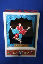 Vtg Moving Mechanical Magic Dancer Musical Storage Jewelry Music Box Yap'S 1981