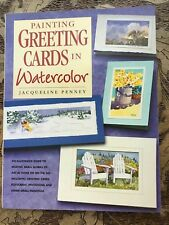 Painting Greeting Cards in Watercolor Softcover Book