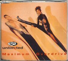 2 UNLIMITED - maximun overdrive  5 trk MAXI CD 1993 ZYX 7135-8