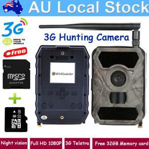 3G Hunting Trail Camera WG-890WG MMS GSM Game Farm Security Cam+32GB Memory card