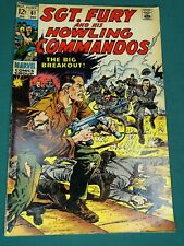 MARVEL COMICS GROUP SGT. FURY AND HIS HOWLING COMMANDOS #61 12/1968 AWESOME COPY