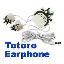 New Cute Cartoon Totoro Earphone Headset With Wire Organizer