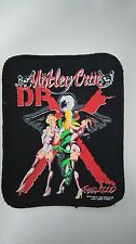 Motley Crue dr. Feelgood patch Sew On RARE 2 heavy metal music